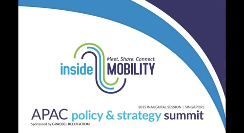 2015 APAC Policy & Strategy Summit Video Summary