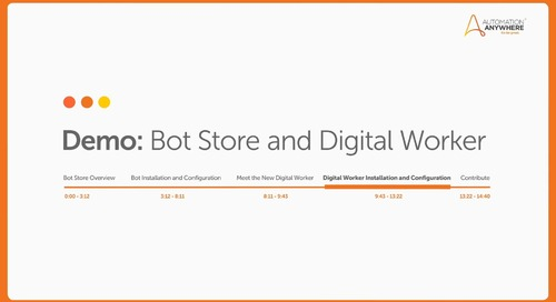 Bot Store: How to download and install a Digital Worker?