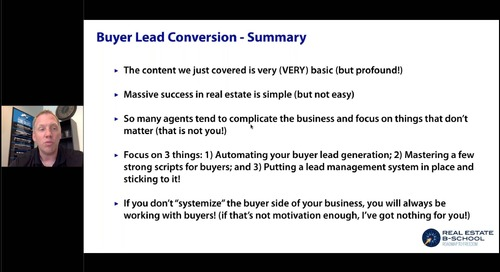 Lead Generation, Conversion and Management: The Not-So-Sexy Side to Making Serious Money in Real Estate