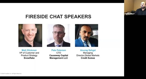 Webinar - 3 Keys To Becoming a Data Cloud Leader in Financial Services