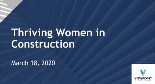 Thriving Women in Construction