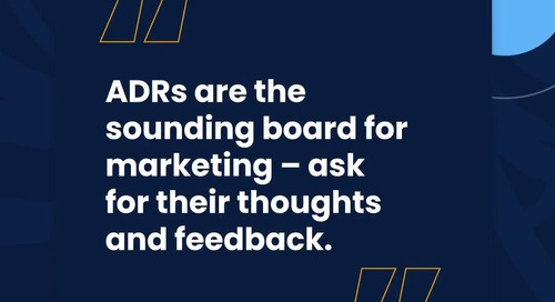 The Roof S2: ADRs Belong On The Marketing Team