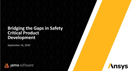 Bridging the Gaps in Safety-Critical Product Development