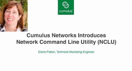 Cumulus Linux NCLU: Technical video demo