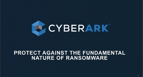 Protect Against the Fundamental Nature of Ransomware