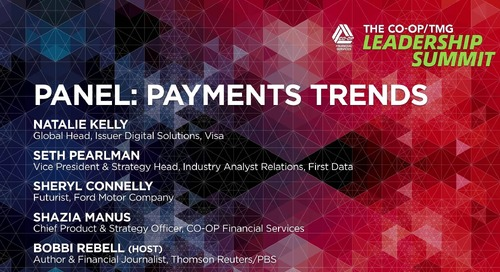 Payment Trends Panel - CO-OP Leadership Summit
