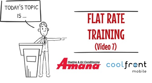 Flat-Rate-Training-Video-7-Amana