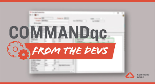 Introducing COMMANDqc | Version 2020.3