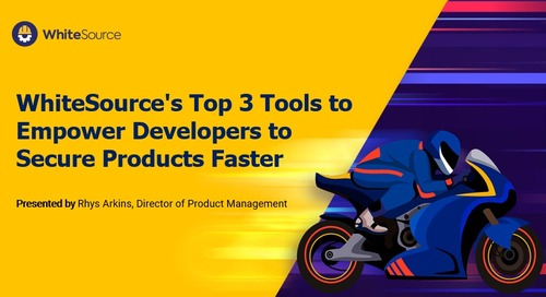 Top 3 Tools to Empower Developers to Secure Products Faster