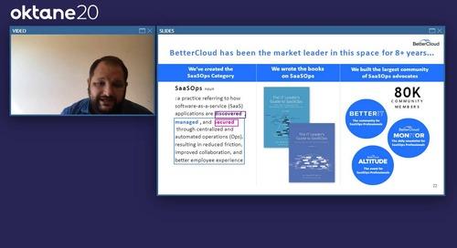BetterCloud x Oktane - David Politis Keynote