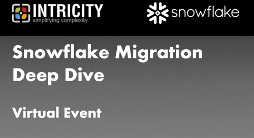 Snowflake Migration Deep Dive - Part 1