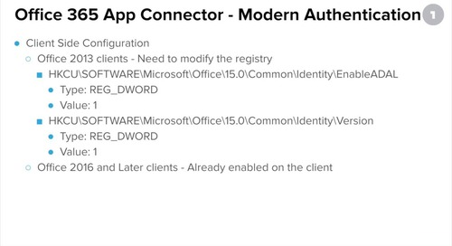 Configuring OneLogin's Office 365 V2 App Connector Pt 4: Single Sign-On