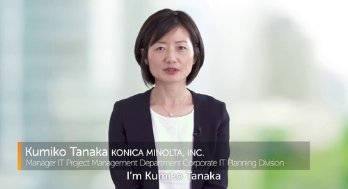 Automation Anywhere RPA Generates Business Advantages for Konica Minolta