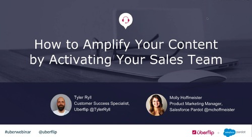 How to Amplify Your Content by Activating Your Sales Team