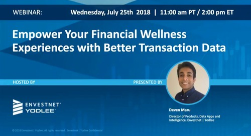 On-Demand Webinar: Empower Your Financial Wellness Experiences with Better Transaction Data