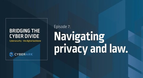 Bridging the Cyber Divide: Episode 7 - Navigating Privacy and Law