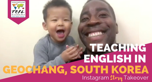 Day in the Life Teaching English in Geochang, South Korea with Tim Unaegbu