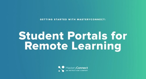 2020 MasteryConnect Student Portals