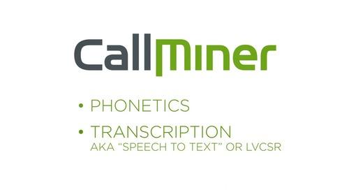 The Benefits of Full Text Transcription in Speech Analytics