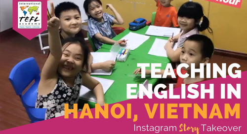 Day in the Life Teaching English in Hanoi, Vietnam with Alex Branam