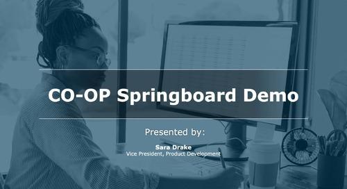 CO-OP Springboard Demo