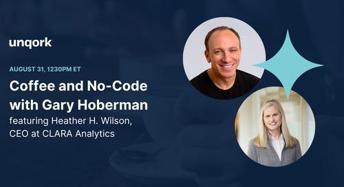Episode 8: #CoffeeAndNoCode With Gary Hoberman