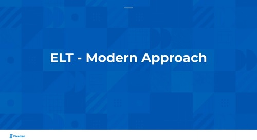 Why Companies are Moving Towards ELT