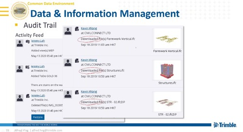 Integrated project workflow with CDE 2020 SEA