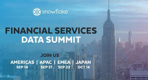 Financial Services Data Summit