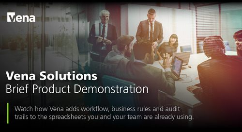 Vena Solutions - Brief Product Demonstration