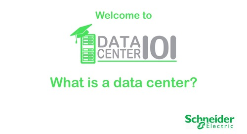 Data Center 101: What is a Data Center?