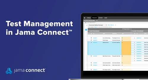 Jama Connect™ Test Management