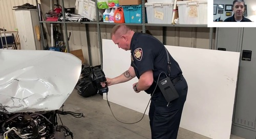 Using handheld 3D scanners for crime & crash scenes [webinar]