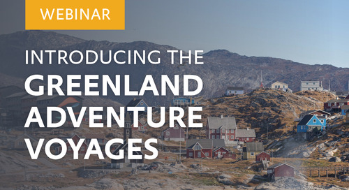 Webinar: Introducing the Greenland Adventure voyages with Ultramarine Expedition Leader Alison Kirk-Lauritsen