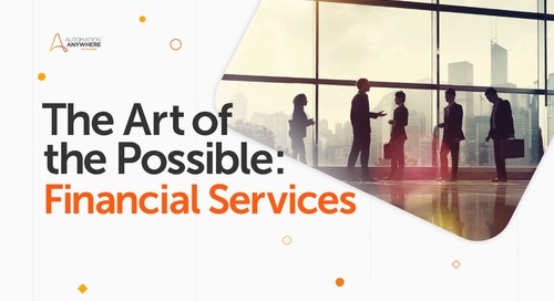 Art of the Possible – Financial Services