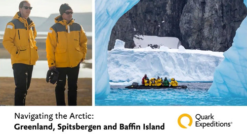 Navigating the Arctic: Greenland, Spitsbergen, and Baffin Island