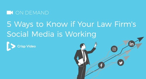 5 Ways to Know if Your Law Firm's Social Media is Working