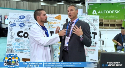 The ConTechCrew at AU 2018: Jeff Sample chats with Michael Bellaman, CEO of ABC