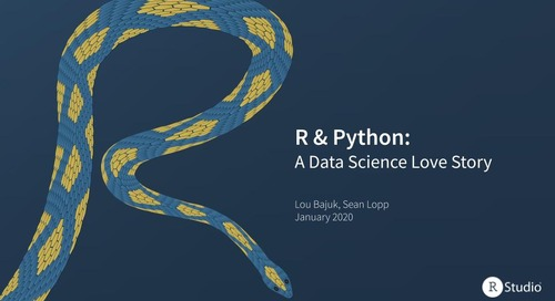 R & Python: A Data Science Love Story