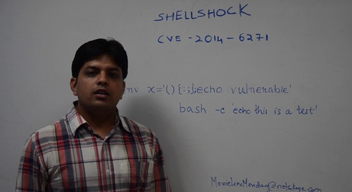 Movie Line Monday - Shellshock CVE-2014-6271