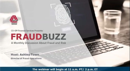 FraudBuzz Webinar - May 2020