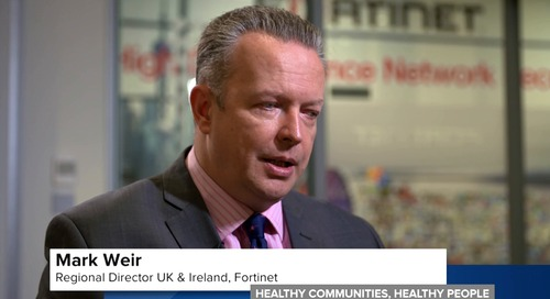 Healthy Communities, Healthy People - New NHS Alliance With Fortinet