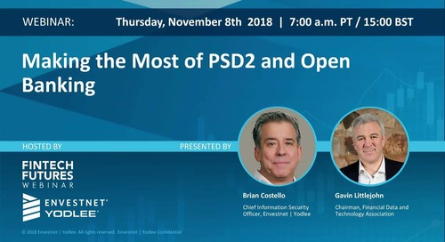 On-Demand Webinar: Making the Most of PSD2 and Open Banking