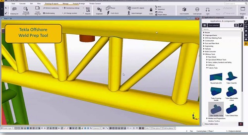 Tekla Structures for Offshore: Interoperability and New Functionalities for Increased Productivity and Accuracy