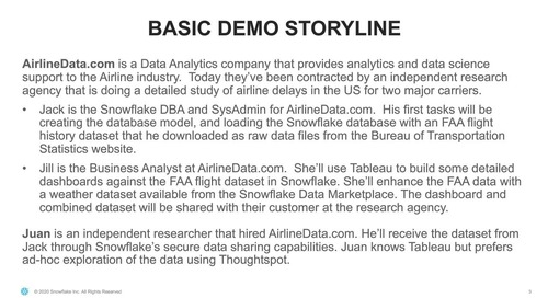 Webinar - Demonstration: Snowflake Cloud Data Platform for Federal Government
