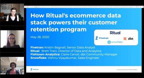 How Ritual's Ecommerce Data Stack Powers Their Customer Retention Program