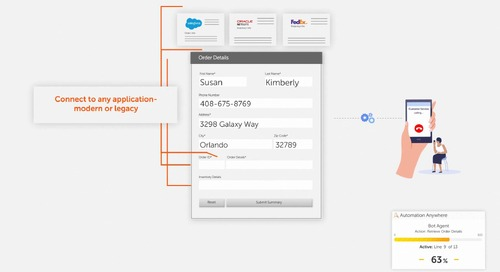 Improving Call Center Performance with Automation Anywhere Interactive Forms