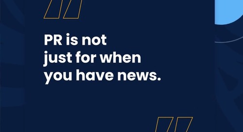 The Roof S2: News Flash–PR Isn't Just for News