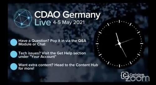 Webinar - Establishing Prominence as a Data & Analytics Leader [CDAO Germany Live]