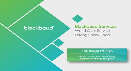 Blackbaud K–12 Managed Services